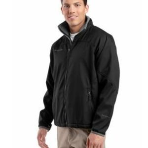 Columbia mens Shelby black soft shell coat